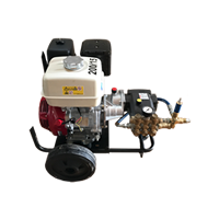 Hidrolimpiadoras con motor de gasolina