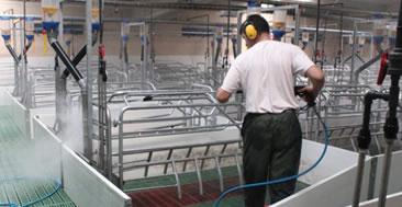 Hidrolimpiadoras para granjas